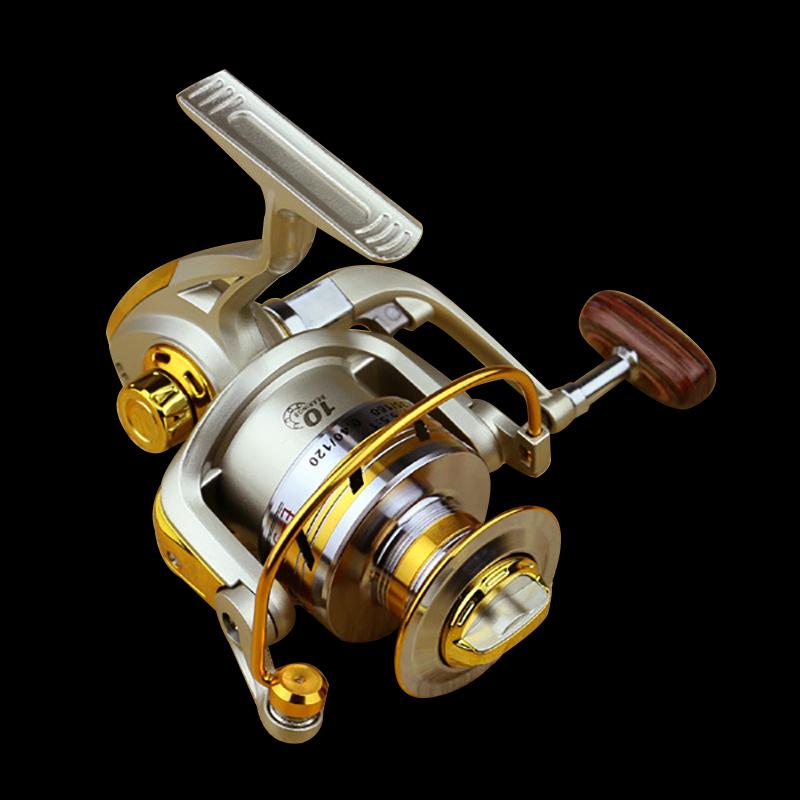 FDDL Metal Fishing Reel Baitingcasting Reel 5.51 EF1000-7000 10BB Lake Ocean Ice Fishing Gear Spinner Reel Fishing Coils (5)