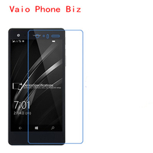 5 Pcs Ultra Thin Clear HD LCD Screen Guard Protector Film With Cleaning Cloth For Vaio Phone Biz.(China)