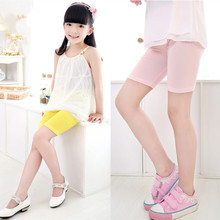 Fashion Girls Shorts Girls Safty Shorts Pant Candy Color Kids Beach Pants Shorts Kids Trousers Childrens clothes 2-12 Year
