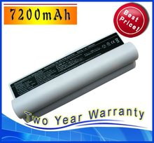 7200mAh White Battery For ASUS Eee PC 2G Surf 4G 8G 12G 20G A22-900 A22-P701H A22-700 A22-P701 P22-900 Free Shipping