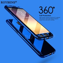 For Samsung Galaxy S7 Edge Case Roybens Luxury Ultra Thin Bling Mirror 360 Full Protection Cover For Galaxy S7 Case 2 in 1 Armor(China)
