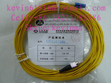 10m long fiber optical patch cord cables with LC-FC or FC-LC Connector, 2mm, single model single core from different brands