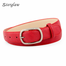 High Top Time-limited Quality Ladies Designers Belts For Women Jeans 2017 Brass Buckles Belt Female Leather Ceinture Femme N061