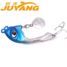 Free shipping fishing lures spoon vib lure 7g 10g 15g metal baits hard fishing lure spinnerbait China fishing tackle