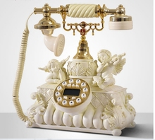 Fashion household wired antique telephone stand-alone Caller ID phone