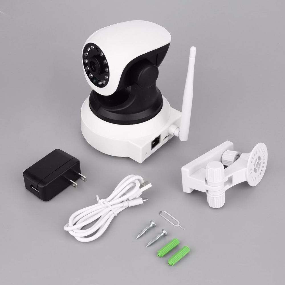 DID-901FH One Million 720P HD Wireless Network Camera Wi-Fi Home Monitor Camera with Smartphone Alerts and App Set-up<br>