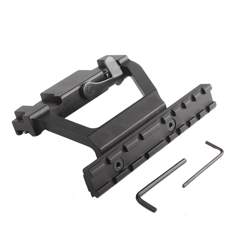 AK Mount 47 74 SVD Side Rail QD Scope Sight Torch Attachment 20mm Airsoft RL2-0022