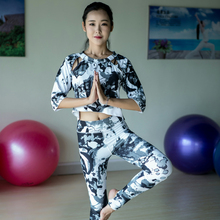 High Quality 3 Pieces in Yoga Set Camouflage Pants & Shorts & Skirt Gym Clothes Sport Wear Training Suit Running Outdoor Jogging
