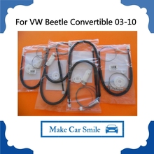 For Volkswagen VW Beetle Convertible All Four Doors Window Regulator Repair Kits Front +Rear Side 2003-2010(China)