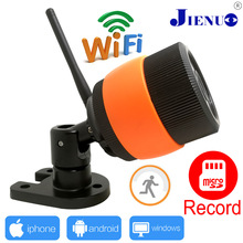 720P Security surveillance cameras wireless connection WIFI real-time view TF card records CCTV IP Camera P2P
