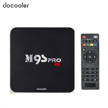 Docooler 2GB/16GB M9S-PRO Smart Android TV Box Amlogic S905X Quad Core XBMC 4K Mini PC WiFi H.265 DLNA Miracast HD Media Player