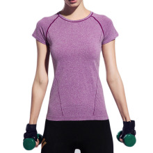 Women yoga T shirt tees Sport Leisure short sleeved shirt yoga fitness running quick-drying yoga top tennis shirt