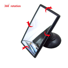 Car Interior Mirror 360 Rotation Auto Mirror Car interior rear view mirror Suction windshield installation 360 degree rotation