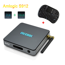 Buy Mecool BB2 TV BOX Android 6.0 Amlogic S912 64 bit Octa core 2GB ROM 16GB 2.4G/5G WiFi Bluetooth 4.0 H.265 4K Media Player for $50.68 in AliExpress store