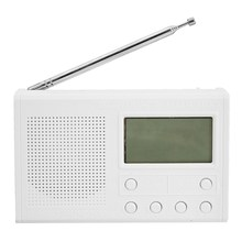 Hot Sale DIY Kit Radio FM Electronic Hobbies Learning Suite White Frequency Range 72-108.6MHz