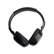 One unit Infrared Wireless IR Stereo headphone for car audio systems Auto mute and auto power off function