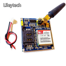 MINI V4.0 SIM900 Wireless Data Transmission Module GPS GSM GPRS Board Kit with Antenna Cable for Arduino