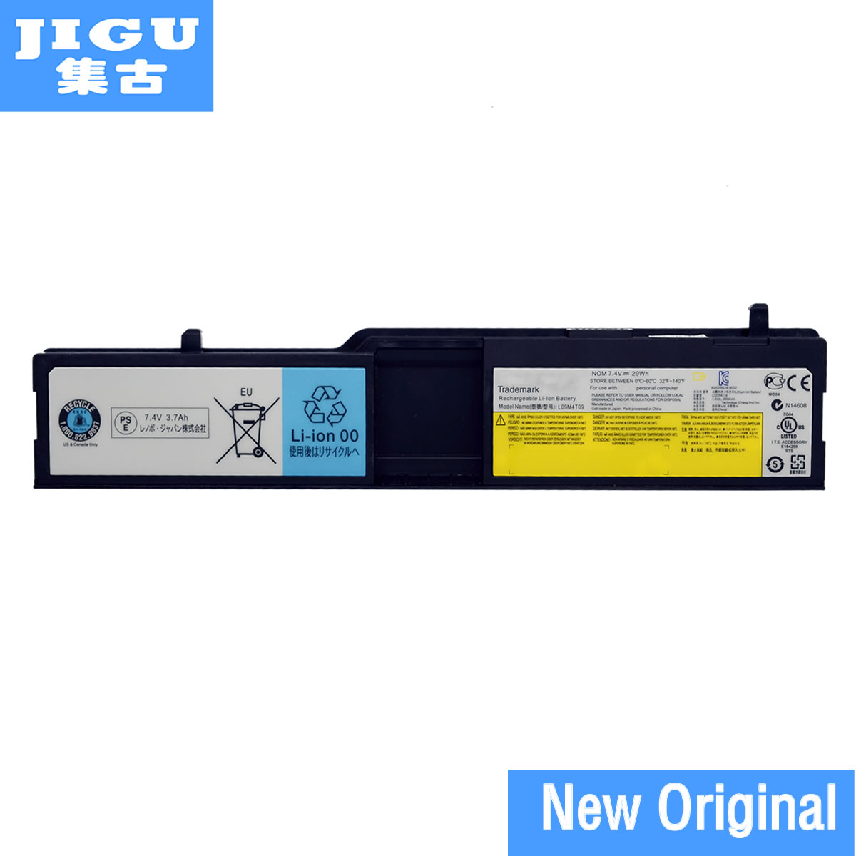 JIGU L09M4T09 L09M8T09 L09S4T09 L09S8L09 L09S8T09 Original laptop Battery For Lenovo for IdeaPad S10-3T 4CELLS 7.4V 29WH