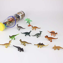 12pcs/set Animal Model Plastic Mini Dinosaurs Land Ocean Animals Model Toys Animal Figures Action Figures Toy For Kids Gifts