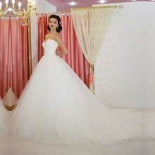 2017 Real Pictures A Line Beautiful New Design Wedding Dress Made in China Queen Factory Manufacturer Supplier Capitao America