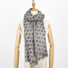 Imitation cashmere printing new small bee printing scarf autumn and winter women scarves / shawl manufacturers(China)