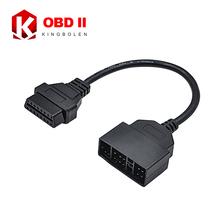High Quality OBD II 16 Pin to Toyota 22pin Female OBD 2 Cable Connector Adapter With 2 Years Warranty