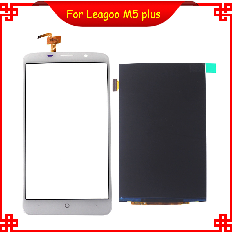 100% Original for LEAGOO M5 Plus LCD Display Touch Screen Digitizer Assembly Replacement Free Tools <br><br>Aliexpress