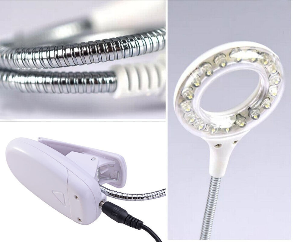 Bright EL Products LED Light Book Reading Lamp led clip lights(China)