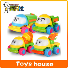 4pcs lot crane friction truck toy car classic toys baby toy cheap toys free shipping(China)