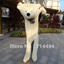 Wholesale 180cm teddy bear plush toys high quality and low price skin holiday gift birthday gift valentine gift FREE SHIPPING