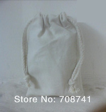Free Shipping,100pcs/lot,10x15cm,Plain Nature Cotton Drawstring Bag,Cotton String Pouch,Muslim Bag,Custom Size Logo Acceptable