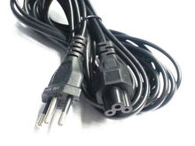 6ft 1.8m Original Brazil plug Br AC power cable cord for laptop adapter monitor Free Shipping
