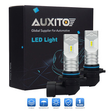 AUXITO H10 H16 PSX24W LED Car Fog Light 30W 6500K White Daytime Running Light Fog Lamp For Ford GMC Chevrolet Jeep Dodge(China)