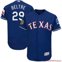 MLB Men's Texas Rangers Adrian Beltre 29 Baseball Royal 2017 Spring Training Authentic Flex Base Player Jersey(China)