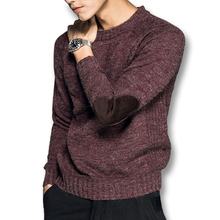 2017 Men Knitted Sweaters Knitwear Male Casual Fashion Slim Fit Fitness Large Size Autumn Winter Thick Sweaters Pullovers Hombre(China (Mainland))