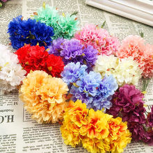 Simulation of artificial silk carnation flowers bouquet/DIY wedding decoration wreath wreath materials of 6 PCS (10 cm/beam)(China)