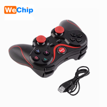 Wechip T3 Bluetooth Wireless Gamepad Game Controller Joystick for Android Smartphone Tablet PC TV BOX 3D Glasses VR BOX S3(China)
