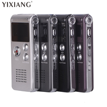 YIXIANG High quality digital voice recorder 8GB Mini USB Flash Digital Audio Voice Recording 650Hr Dictaphone WAV MP3 Player(China)