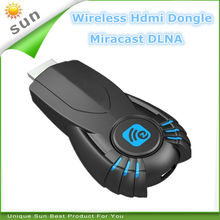 2014 New ezcast smart tv better than chromecast with miracast dlna function best media sharing tv dongle free shipping
