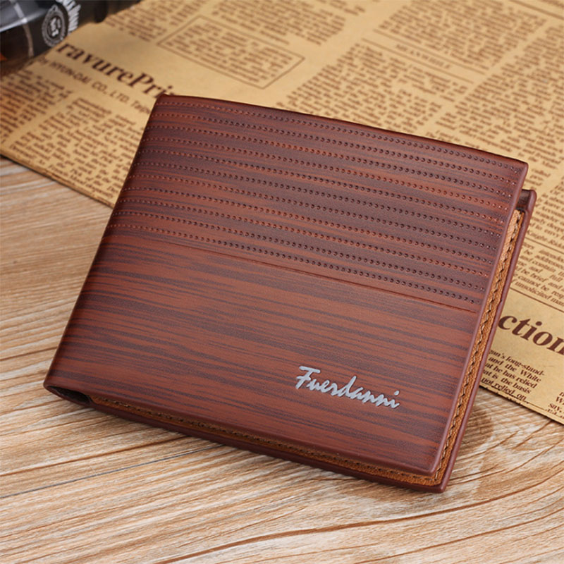 PU Leather Men Wallet Money Bag Credit Card Holders Dollar Bill Wallet Clutch Purse For Boy Use Vintage Purses Wallets Men Walet (7)