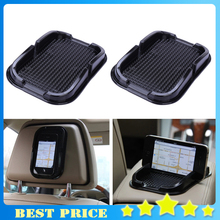 4X Car Styling Multi-functional car Anti Slip pad Rubber Mobile Sticky Dashboard Phone Shelf Antislip Mat For GPS MP3 Cell Phone(China)