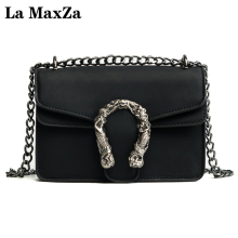 Buy 2017 new female package Korean fashion small square bag trend wild chain package shoulder Messenger bag La MaxZa for $17.10 in AliExpress store