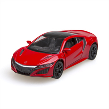 2016 Acura NSX Sport Car 1/36 alloy Metal Racing Vehicle Diecast Metal Pull Back Car Sport Cars Toy For Gift Collection(China)