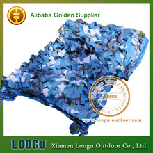 LOOGU EM 3M*4M Blue Camo Netting Sea Ocean Camouflage Netting Ship Covering Tent Decoration Camouflage Net