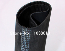 3M Rubber timing belt  213 HTD3M 9 / 71 teeth 9mm belt width 5pcs/pack China manufacture