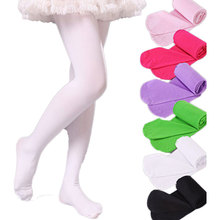 V-TREE Girls high elastic baby pantyhose child white ballet tights candy color girls stockings children's dance(China)