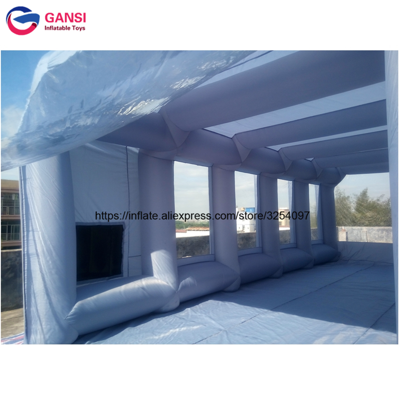 inflatable paint spray booth70