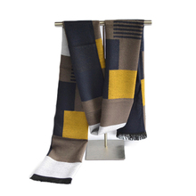Classic England Plaid Scarf Fashion Brand Luxury Patchwork Striped Scarves Men Cotton Scarves winter Blanket scarf hijab(China)