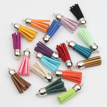 Gold/Silver/Bronz 100Pcs Satin Silk Tassel For Keychain Cellphone Straps Gold Caps Fringe DIY Jewelry Charms Pendant Tassel