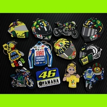 Free shipping 46# Rossi Valentino the doctors KBS ATV Key ring/chains MOTO GP Motorcycle Motocross Helmet Design(China)